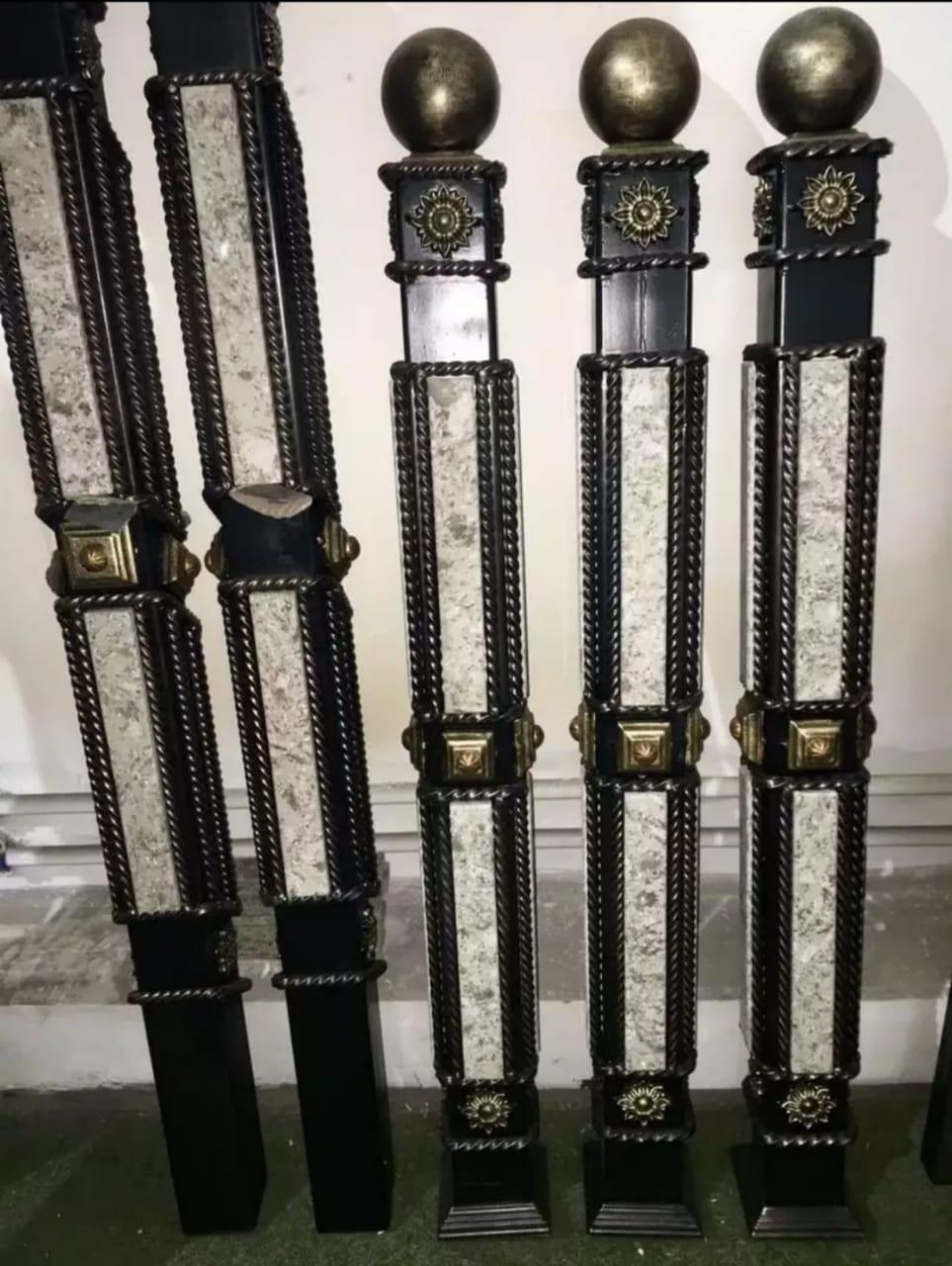 декоративные кованые колонны фото курорте можно сдавать