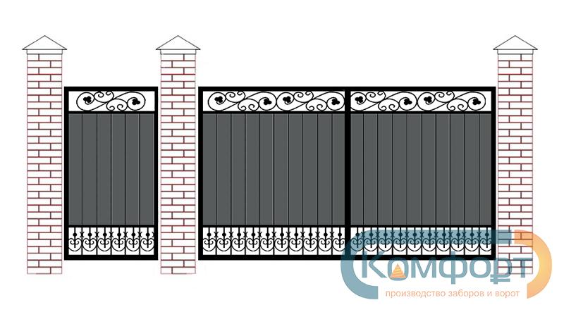 электрические откатные ворота в санкт петербурге